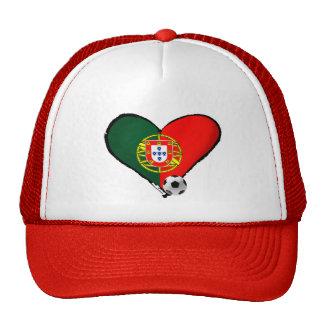 Amor, Portugal e Futebol - O que mais vôce quer ? Mesh Hat