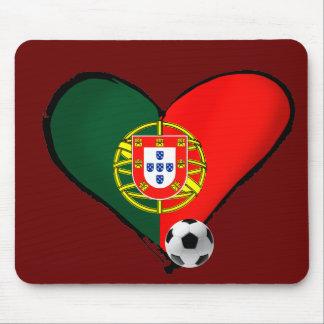 Amor Portugal e Futebol - O que mais vôce quer Mouse Pad