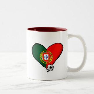 Amor, Portugal e Futebol - O que mais vôce quer ? Coffee Mugs