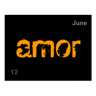 amor post cards