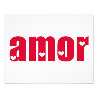 Amor! Spanish Love design! Invites