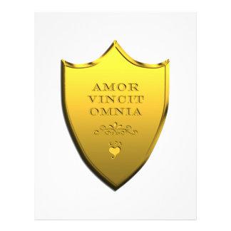 Amor Vincit Omnia 21.5 Cm X 28 Cm Flyer