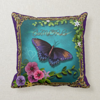 Amore (Butterfly Version 1) Pillow
