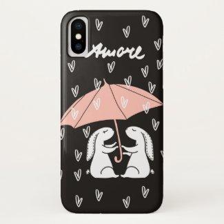 Amore Cute iPhone case
