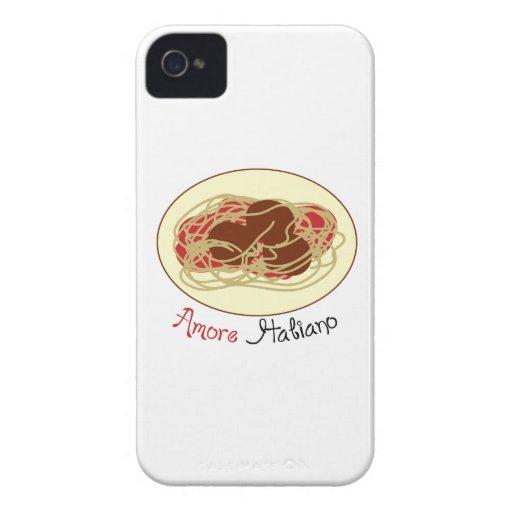 Amore Haliano Case-Mate iPhone 4 Case