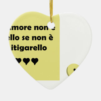 amore litigarello christmas ornament