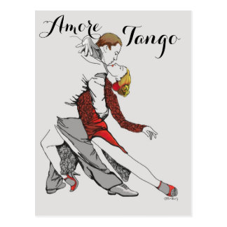 Amore Tango Postcard