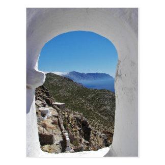 Amorgos Coast. Postcard