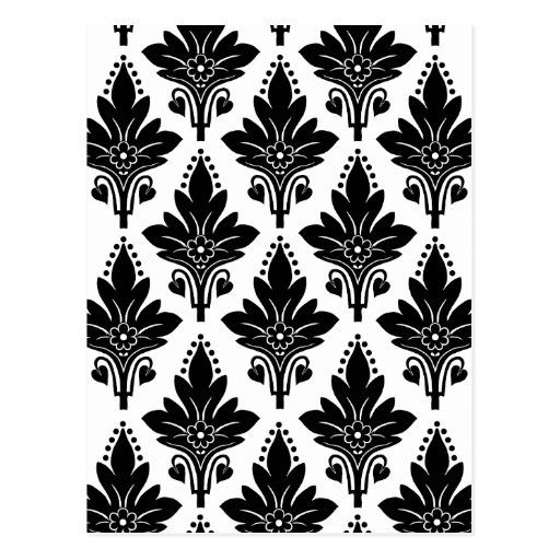 AMOROSO in Black on White Postcard