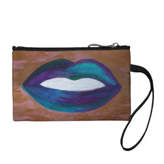 Amorous Lips Kiss XOXO Lipstick Glam Teen Coin Purse