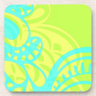 Amorph - lemon & lime coaster