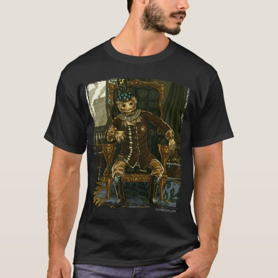 Amortised Straw Man (dark) T-Shirt