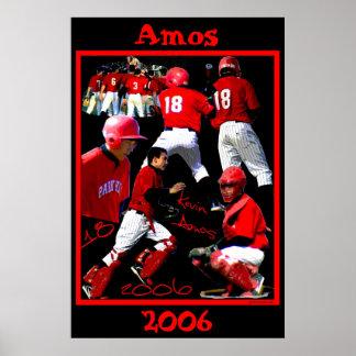 Amos Freshman Baseball Poster