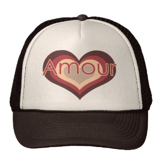 Amour Love for Valentines Day Hats