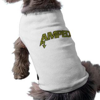Amped Pet Clothing (yellow & black stripes)