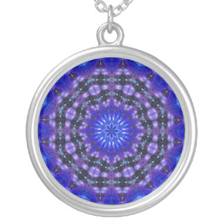 Amped Up Mandala 2 Silver Plated Necklace