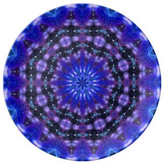 Amped Up Mandala Porcelain Plates