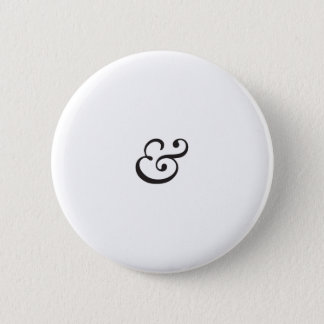 Ampersand 6 Cm Round Badge