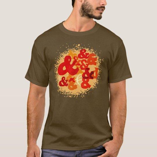 Ampersand design T-Shirt
