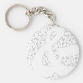 Ampersand Key Ring