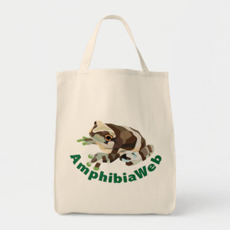 AmphibiaWeb Amazon Milk Frog Canvas Bag