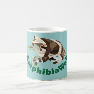 AmphibiaWeb Amazon Milk Frog Colorblock Mug