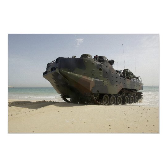 Amphibious Assault Vehicle Poster