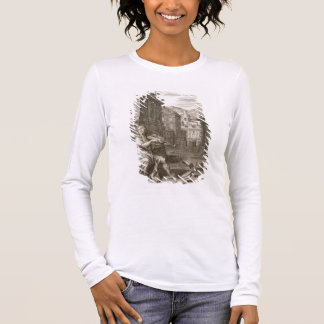 Amphion Builds the Walls of Thebes by the Music of Long Sleeve T-Shirt