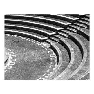 Amphitheater 21.5 Cm X 28 Cm Flyer