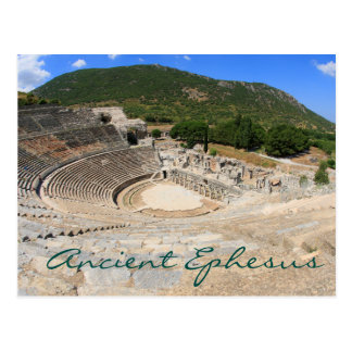 Amphitheatre in Ancient Ephesus- modern day Turkey Postcard