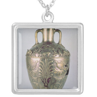 Amphora, late 4th century BC Silver Plated Necklace