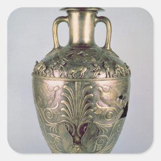 Amphora, late 4th century BC Square Sticker