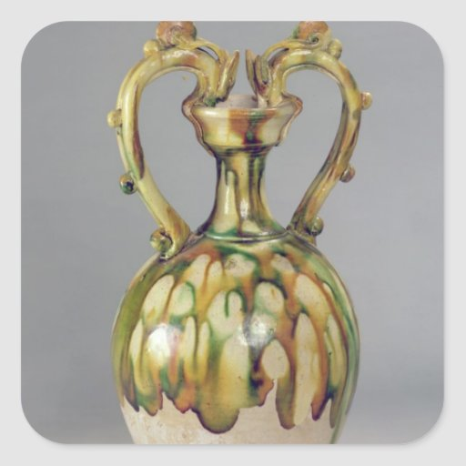Amphora with handles in the form of dragon sticker