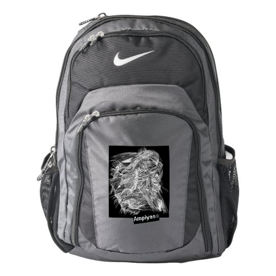 Ampiyas artwork on Nike backpack