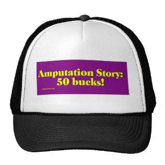 amputation_story mesh hats