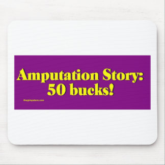 amputation_story mouse mat
