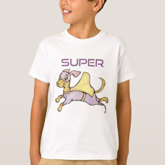 Amputee Superhero Dog with Prosthesis KIDS SHIRT