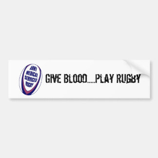 AMS Rugby Bumper Sticker