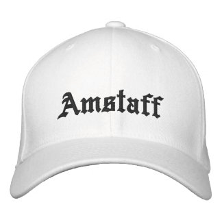 Amstaff Embroidered Hat