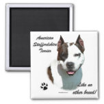 AmStaff Like No Other Breed Refrigerator Magnets