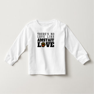AmStaff Love Toddler T-Shirt
