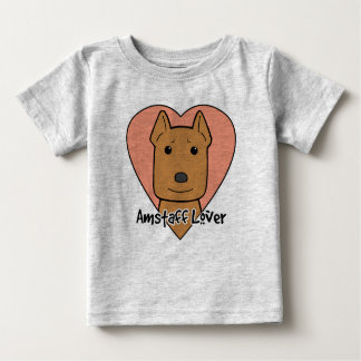 Amstaff Lover Baby T-Shirt