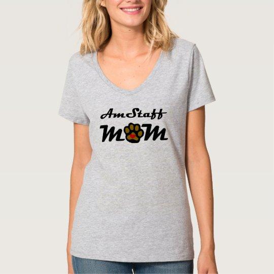 AmStaff Mum T-Shirt