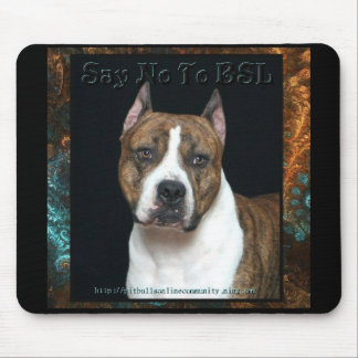 Amstaff No BSL Mouse Mat