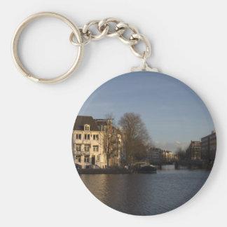 Amstel River, Amsterdam Key Ring