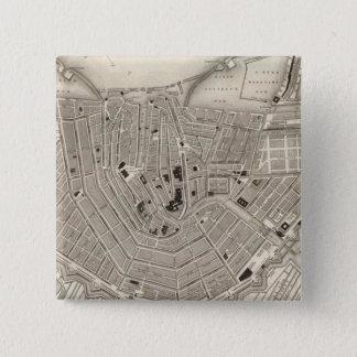 Amsterdam 15 Cm Square Badge