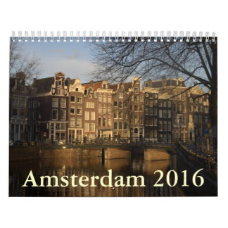 Amsterdam 2016 wall calendars