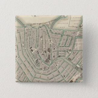 Amsterdam 2 15 cm square badge