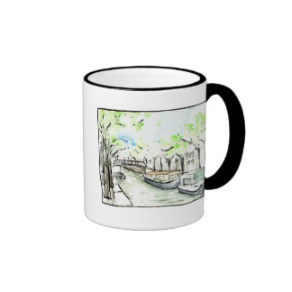 Amsterdam #2 ringer mug