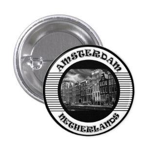 Amsterdam 3 Cm Round Badge